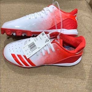 🆕Adidas Icon 4 MD K Athletic Baseball Cleats
